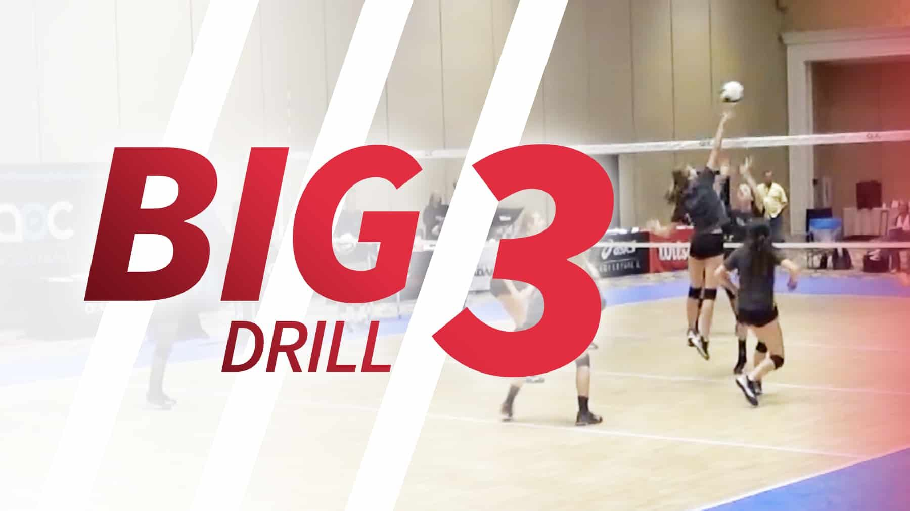 Big 3 Drill For End Of Game Simulation The Art Of Coaching Volleyball Coaching Volleyball Volleyball Volleyball Drills