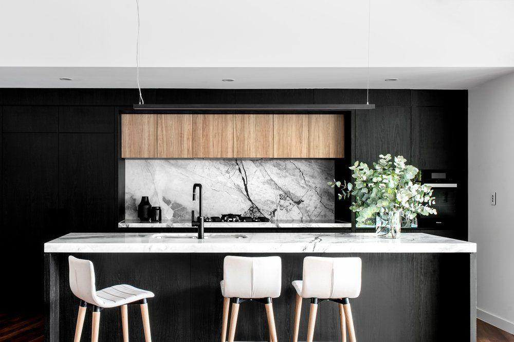 Design Inspo Beautiful Black Kitchens Style Curator Bold Kitchen Contemporary Kitchen Design Timber Kitchen
