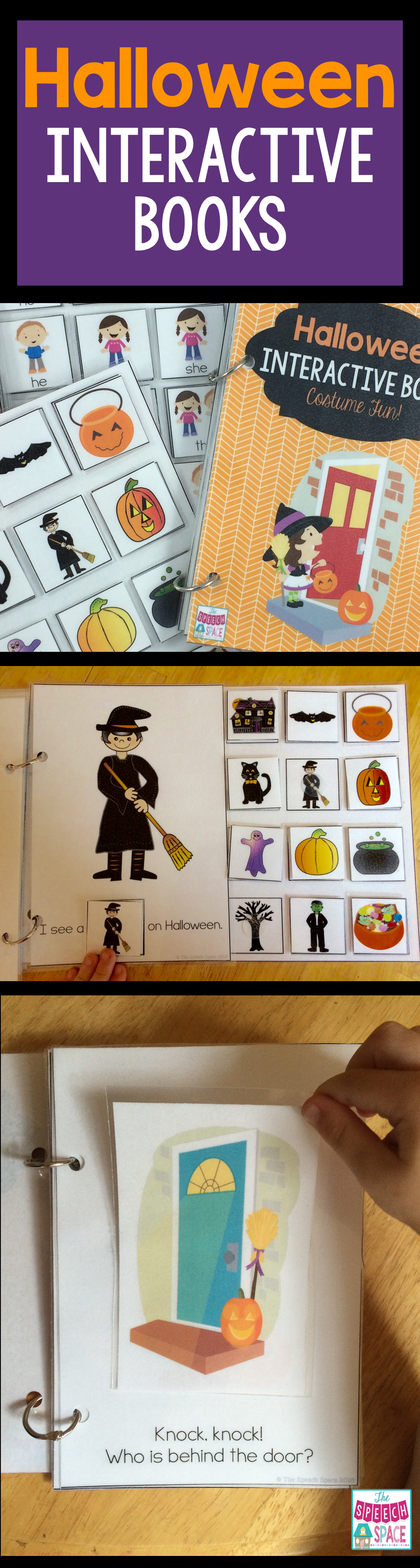 These fun Halloween interactive books are great for preschoolers ...