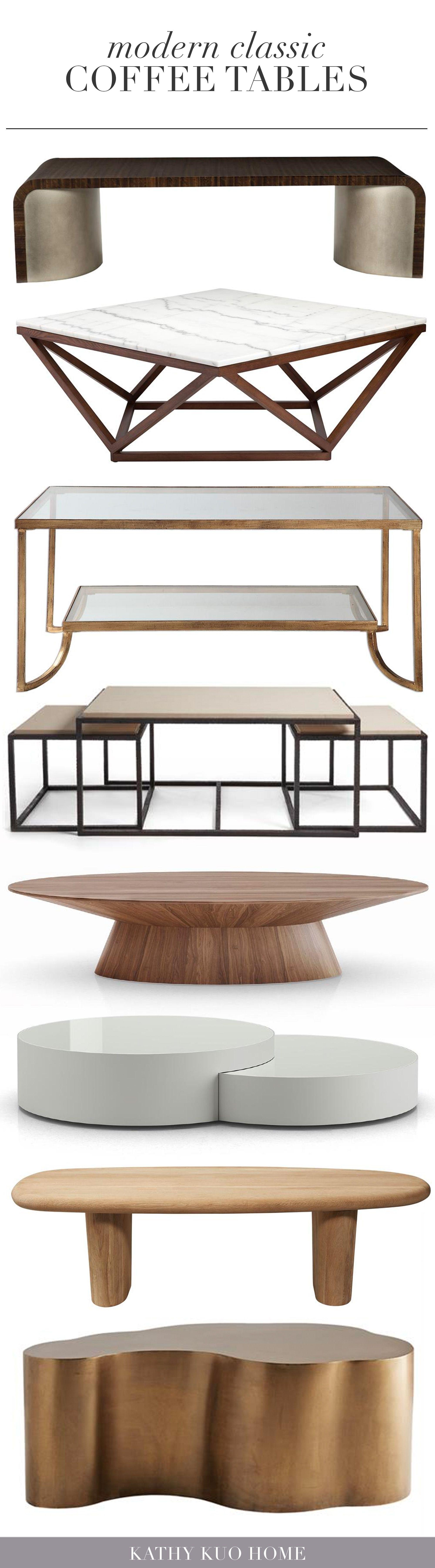 Modern Coffee Tables Kathy Kuo Home Coffee Table Table Style Coffee Table Styling [ 7198 x 2000 Pixel ]