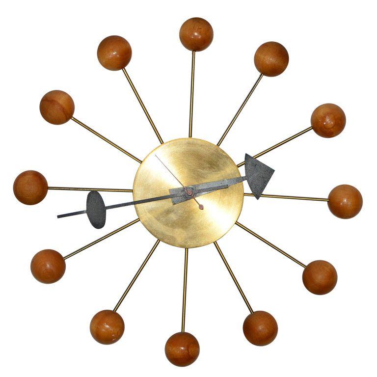 Original George Nelson Ball Clock Nelson Ball Clock Mid Century Clock Nelson Clock