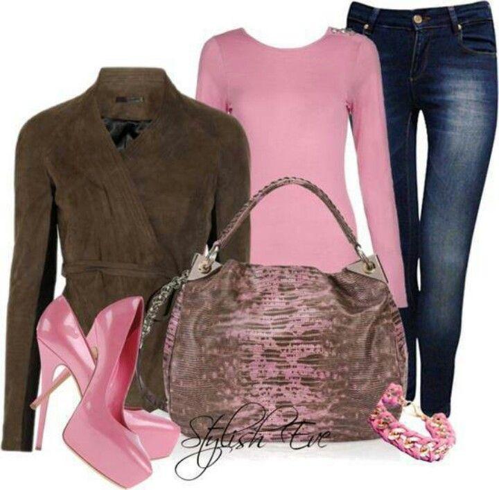 Chocolate & Pink Pastel