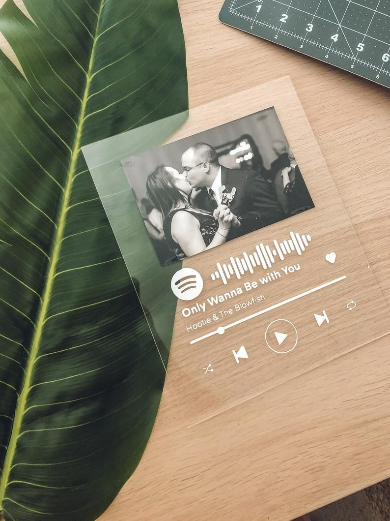 Custom acrylic song album spotify song poster custom music