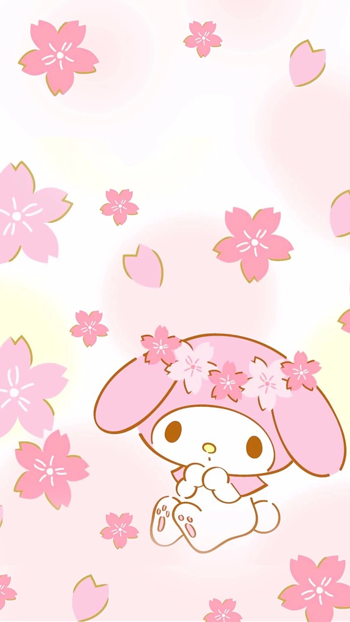 Pin By 云 On My Melody My Melody Wallpaper Cute Mobile Wallpapers Hello Kitty Iphone Wallpaper
