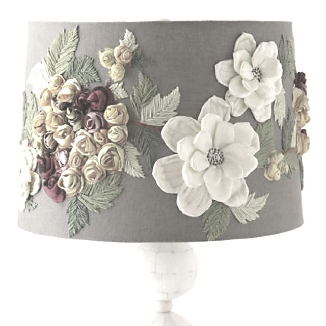 Anthropologie Lamps: Anthropologie Lamp Shade.