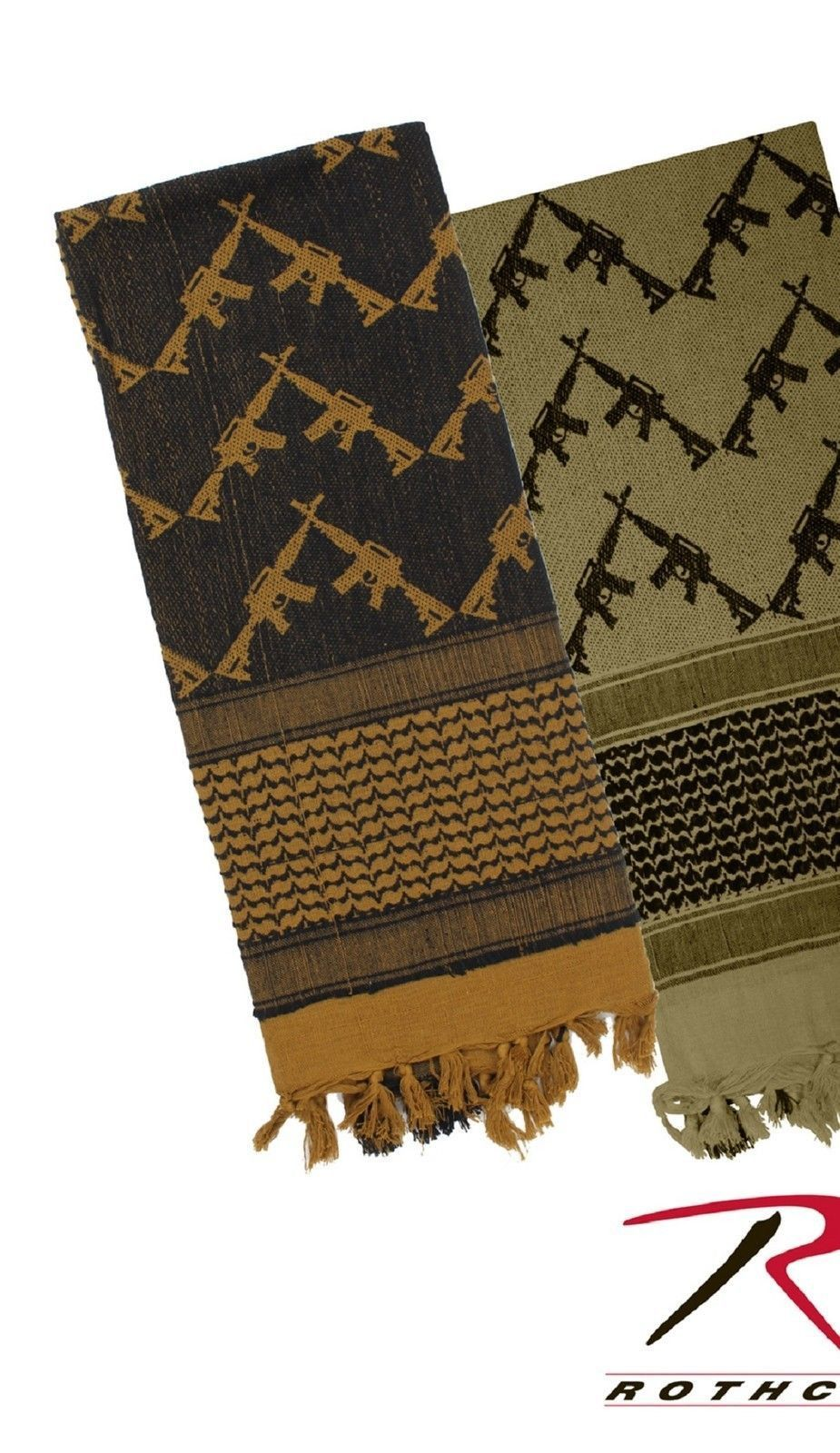 Lightweight Military Shemagh Tactical Desert Scarves ...