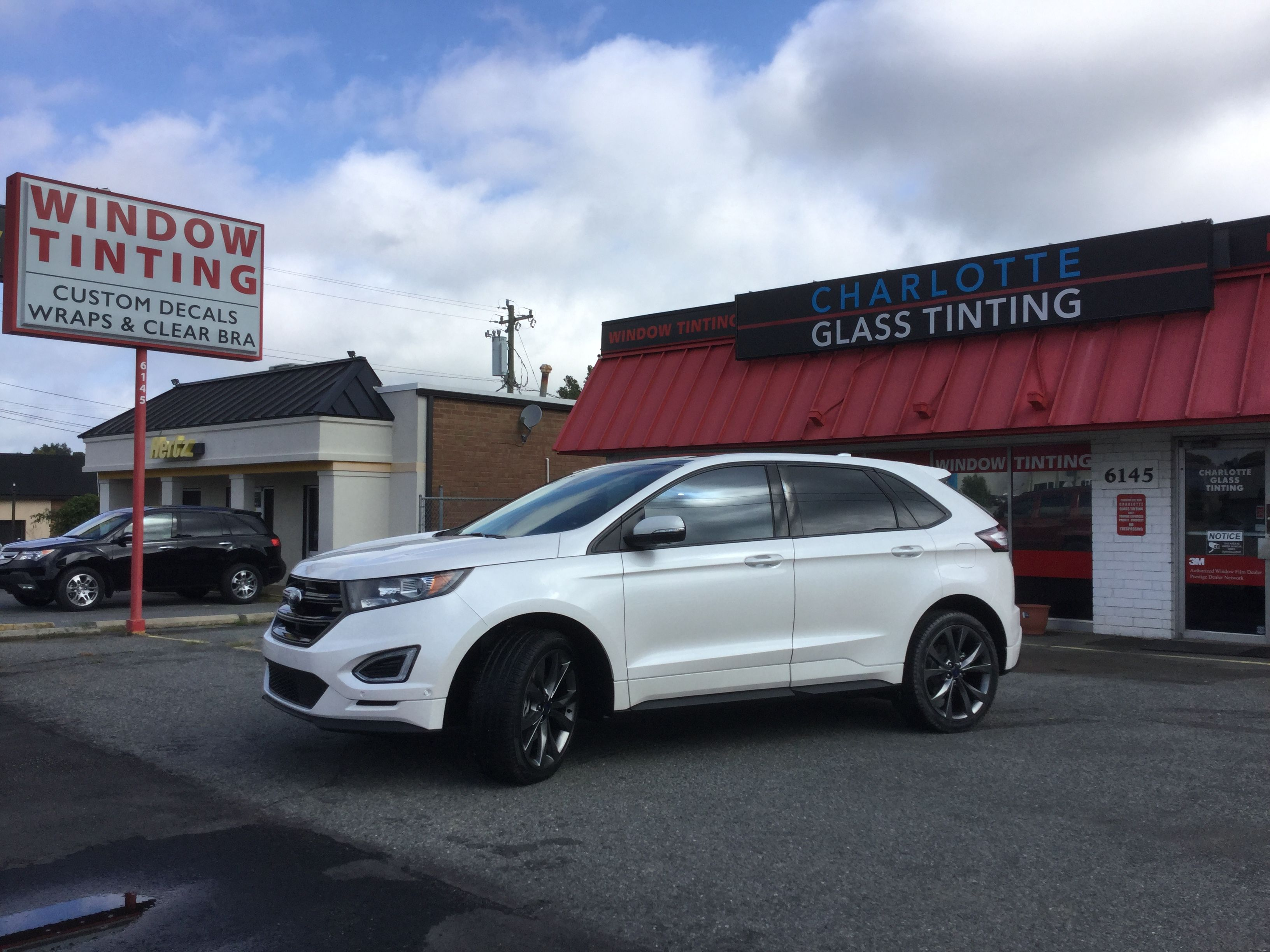 2017 Ford Edge Fully Tinted In 3m Crystalline 40 3mwindowfilms