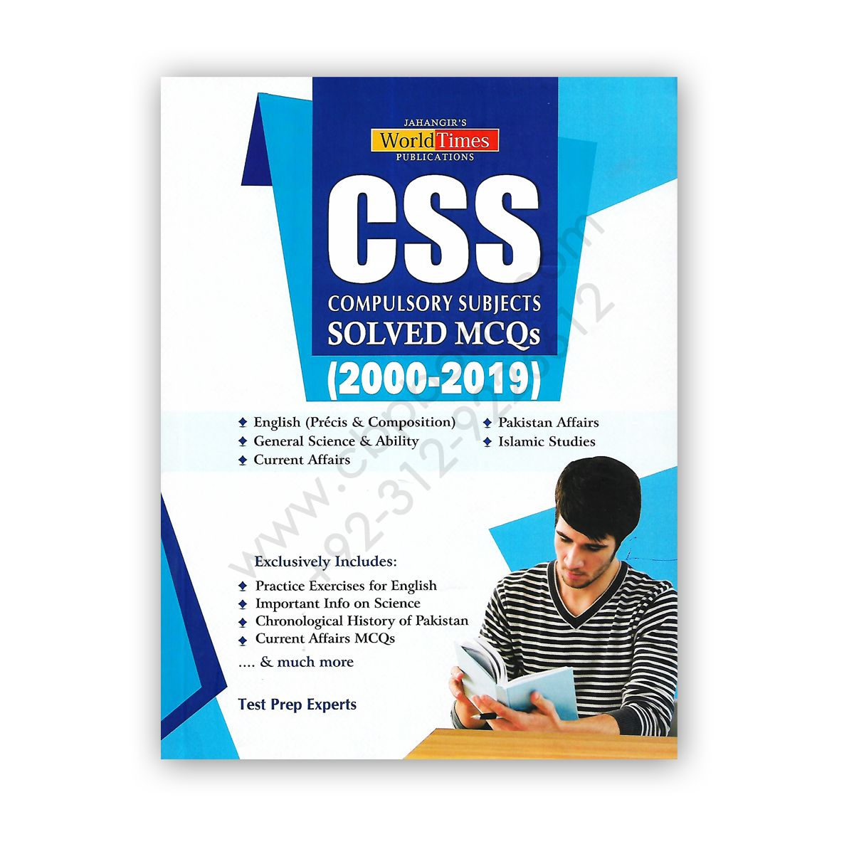JWT CSS Compulsory Subjects Solved MCQs 2000-2019 | books in