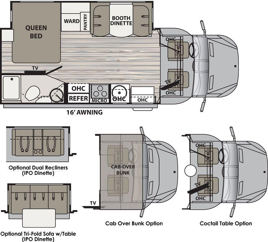 Isata 3 class c motorhomes by dynamax travel trailer
