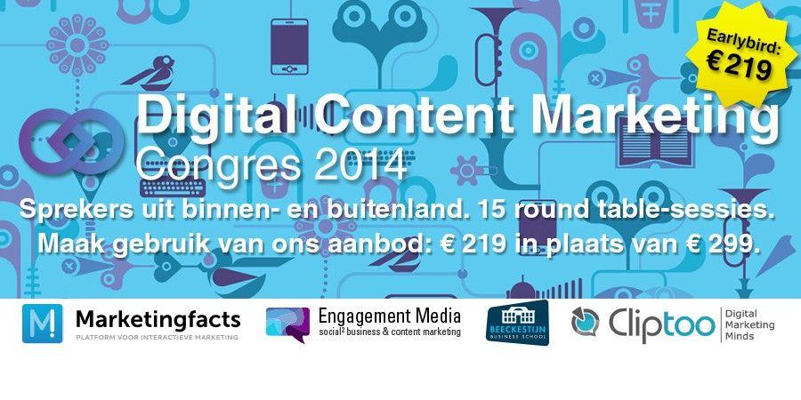 Digital Content Marketing Congres: Relevanter dan ooit
