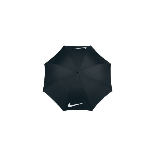 "Nike Windproof 62"" Golf Umbrella ($30) ❤ liked on Polyvore featuring accessories, umbrellas, nike, windproof umbrella, wind proof umbrella and nike umbrella"