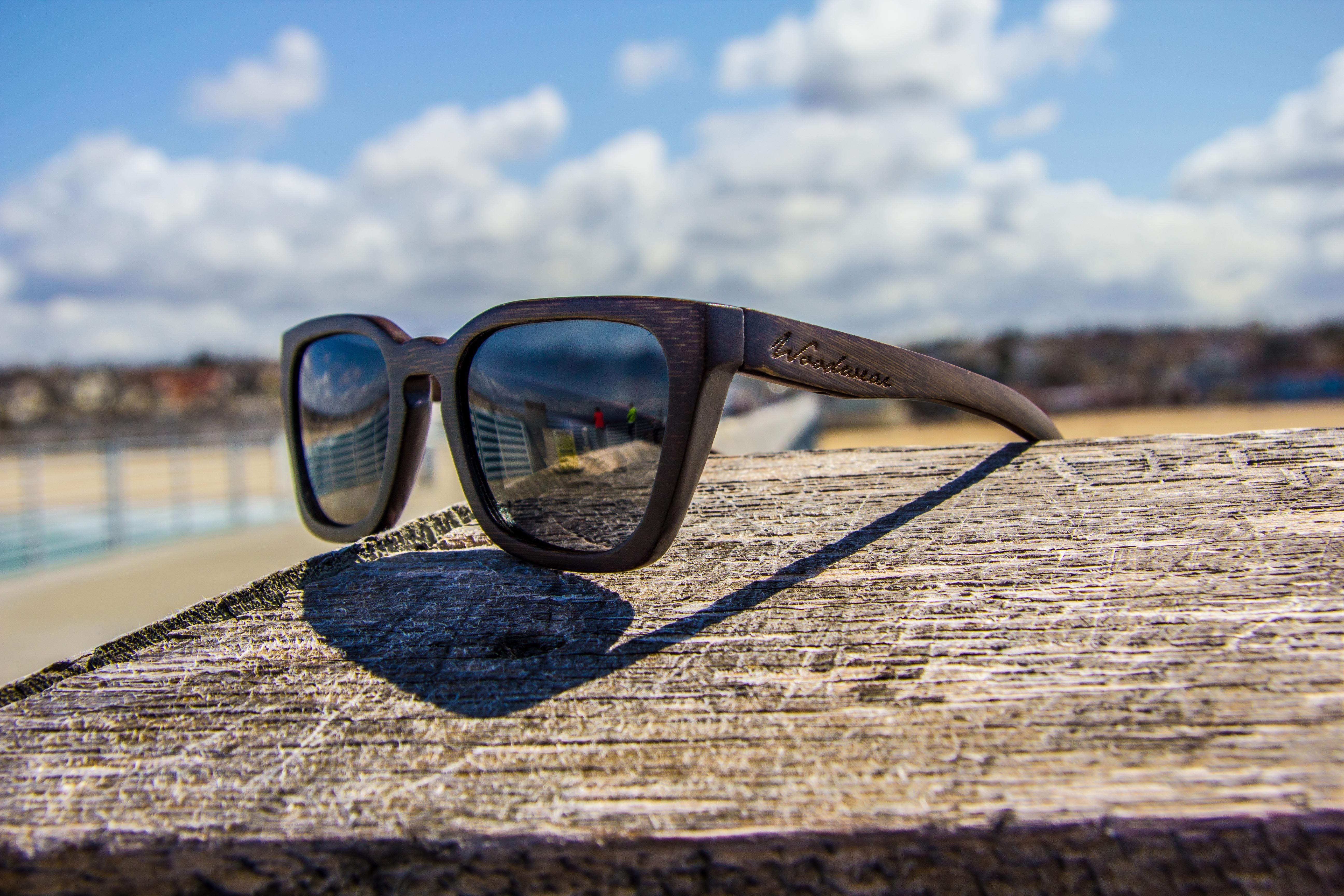 Woodwear Sunglasses - Venice bamboo sunglasses that float!    www.woodwearsunglasses.com