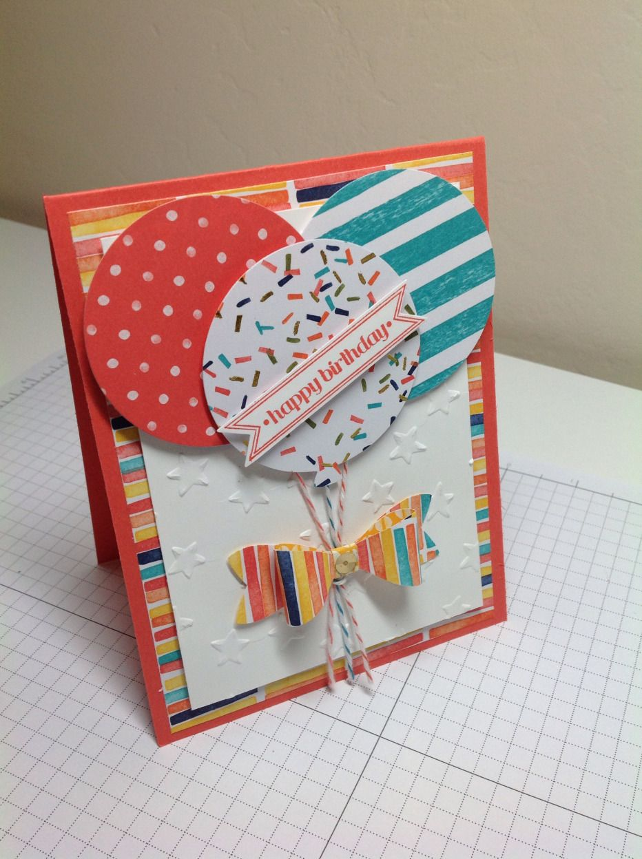 A vibrant card for a vibrant girl and PP 239 | The Mountain Magpie