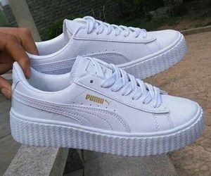 White puma shoes   Tenis feminino tumblr, Sapatos, Tênis