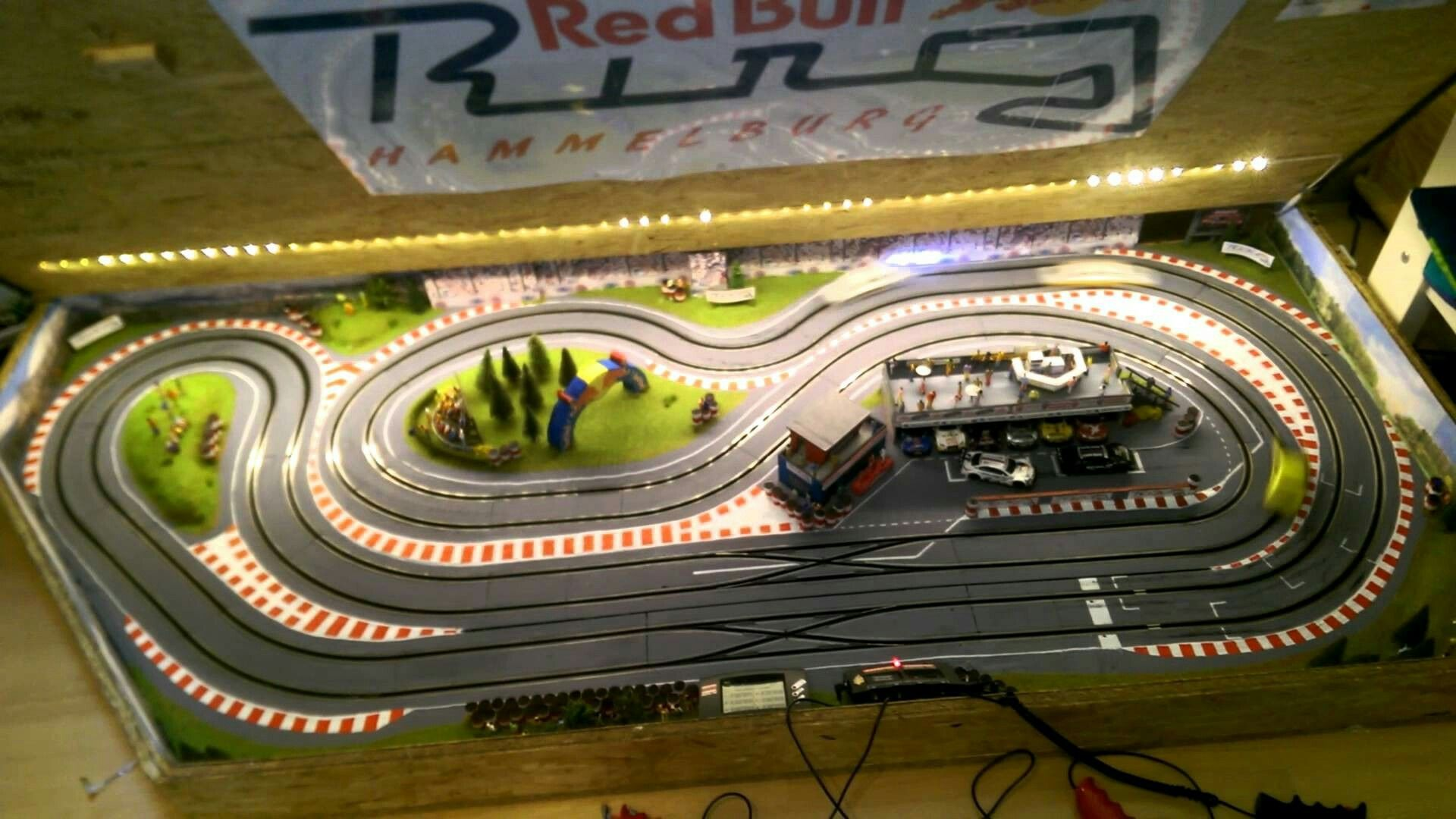 red bull ring slot car layout ideas pinterest red. Black Bedroom Furniture Sets. Home Design Ideas