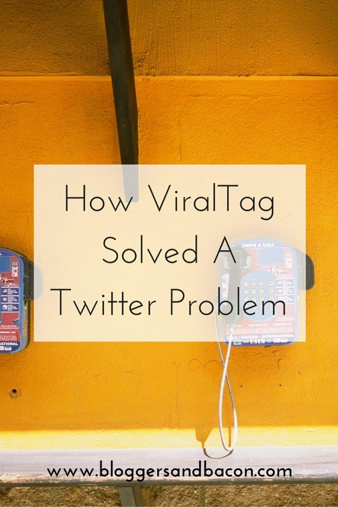 How ViralTag Solved A Twitter Problem