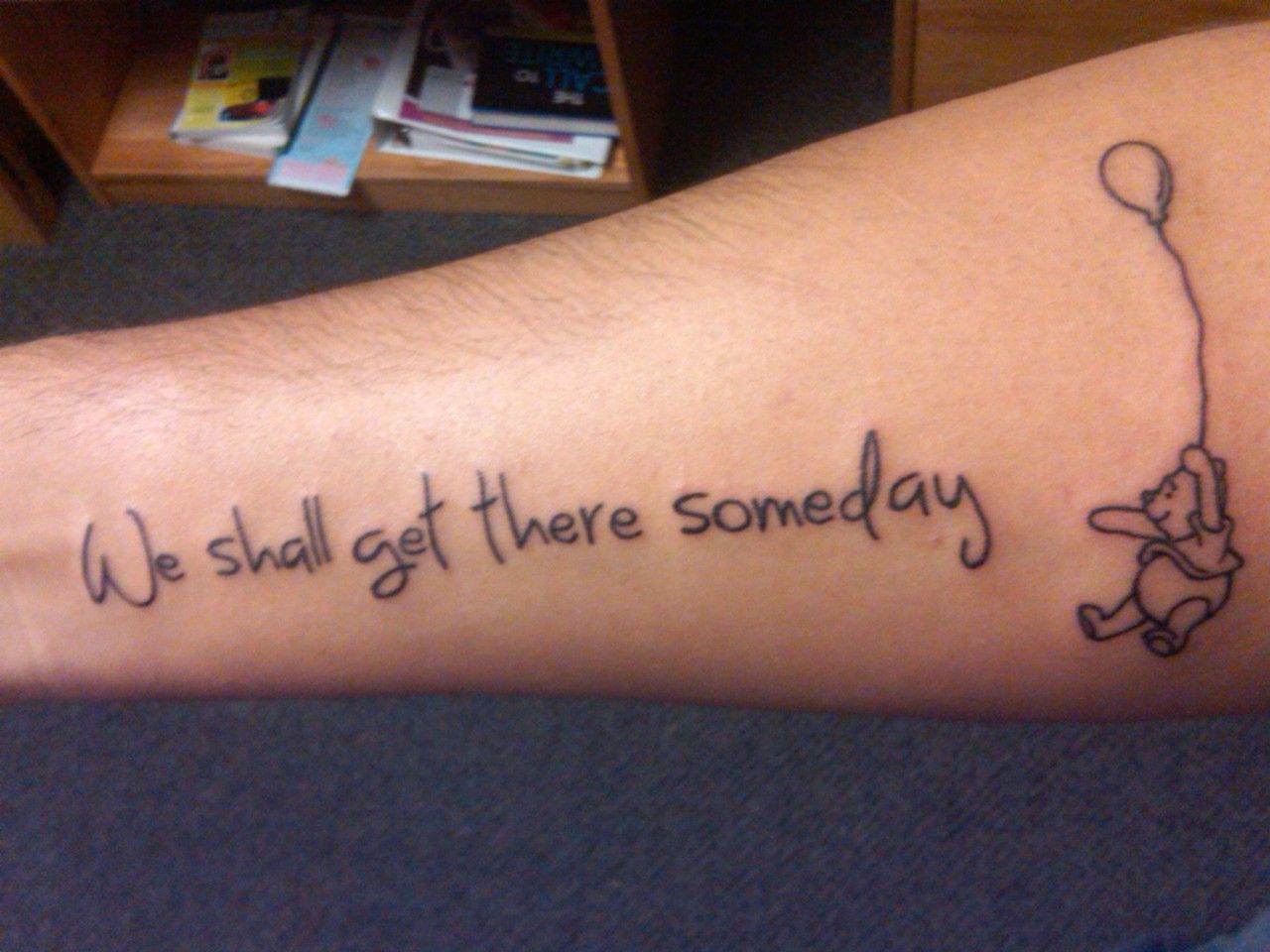 The entire quote reads ucrivers know this there is no hurry we