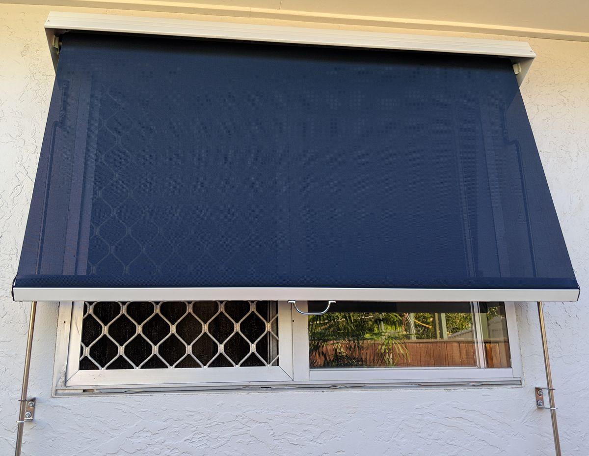Auto Lock Arm Awning Sunshine Coast Bespoke Shutters Blinds Best Security Screens Caloundra Noosa Shutter Blinds Awning Blinds