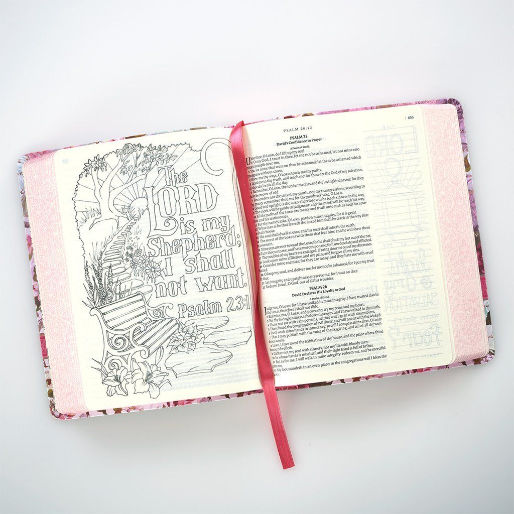 Coloring Bibles for Illustrated Faith Journaling - My Creative bible ...