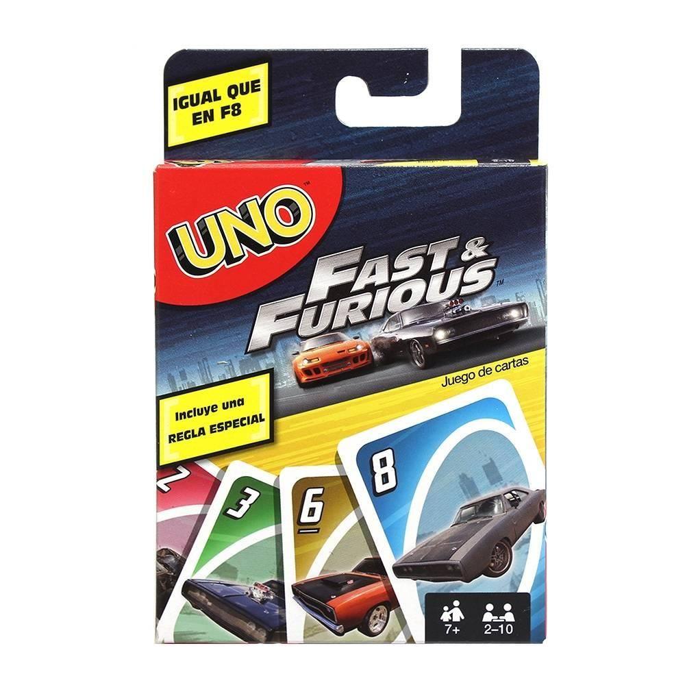 Juego De Mesa Uno Fast Furio Walmart