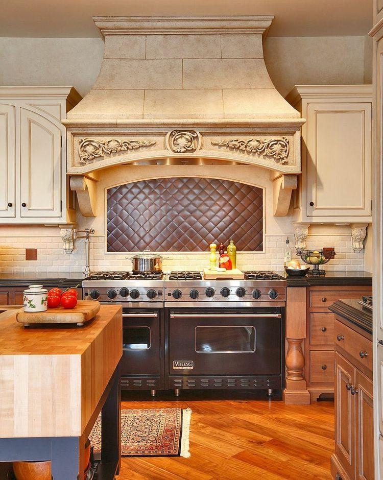 Rückwand der Küche in Kupfer gestalten \u2013 20 Ideen für den