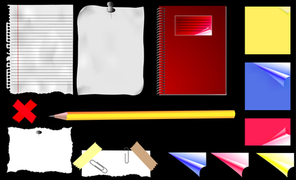 Stationery Vector 4