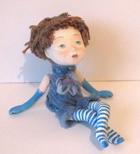 handmade Dolls paper clay