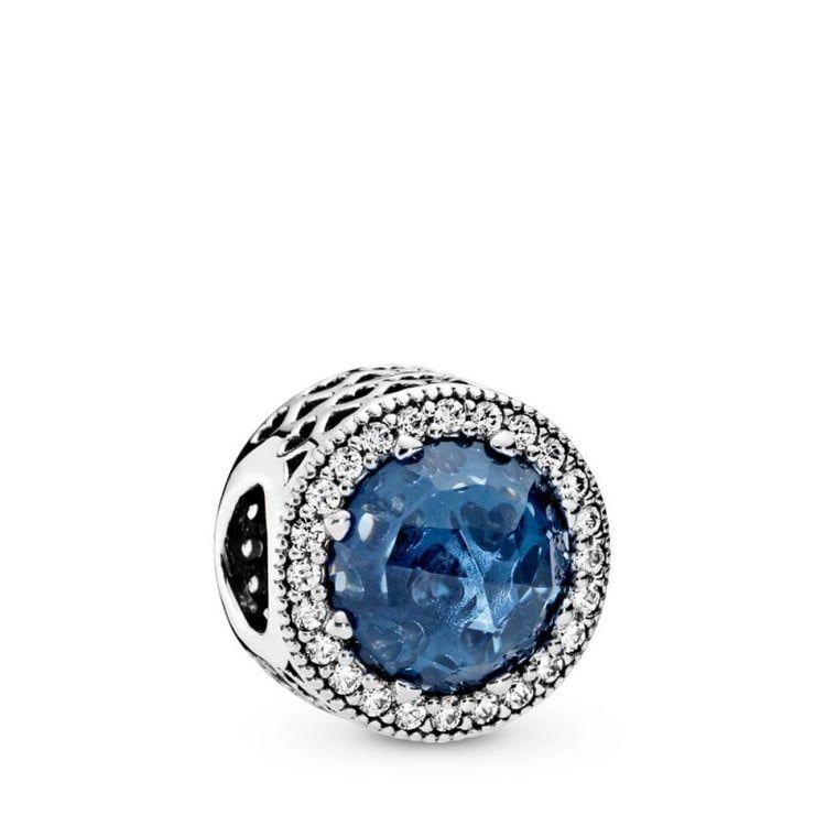 Charms Pandora Coeur Lumineux Bleu Vert,Charms Pour Bracelet Bleu ...