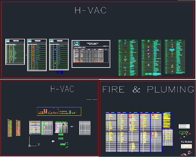 All Autocad Fittings Blocks For Hvac Firefighting And