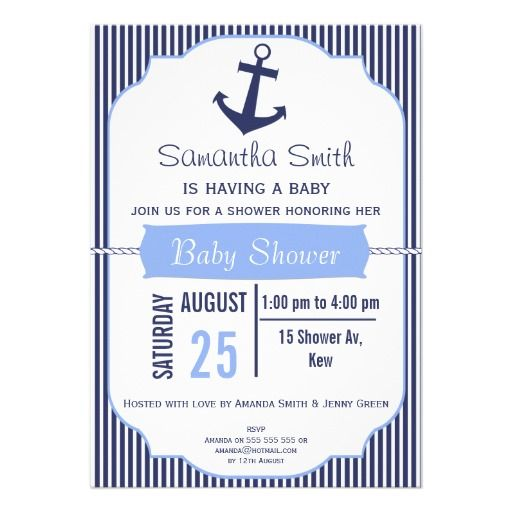 Boys nautical baby shower invitation baby pardo coming in august boys nautical baby shower invitation filmwisefo