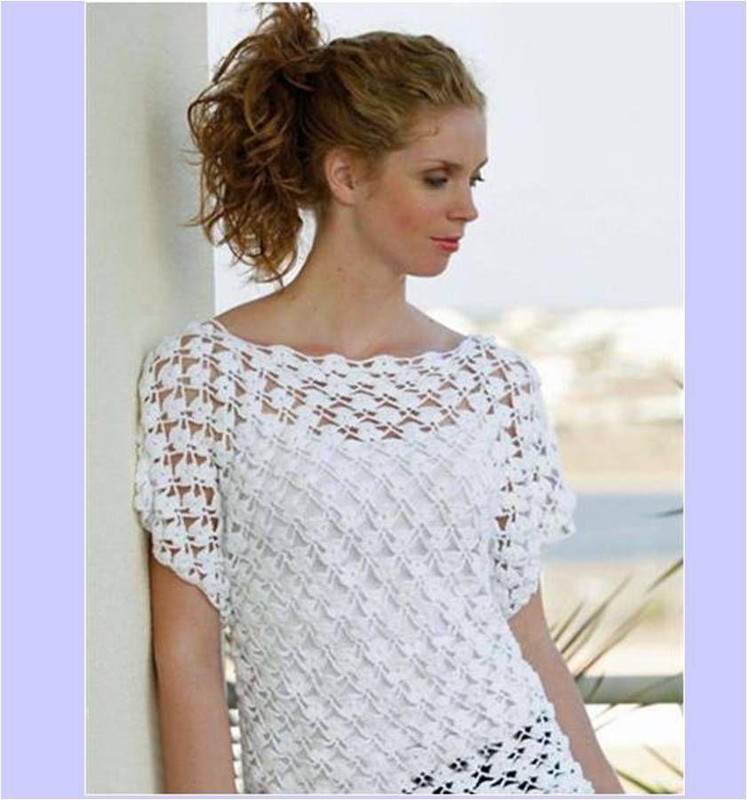 Top Scheepjes+Zomertop.jpg (840×899) | d.ขาว | Pinterest | Crochet  #AE21