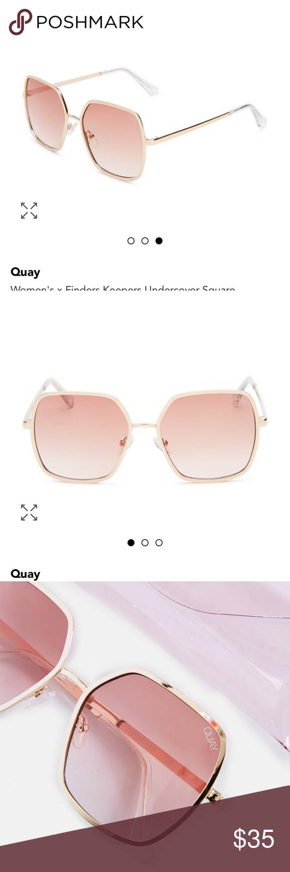 Quay Finders Keepers Undercover Square Sunglasses Brand New Keep It Undercover Go Incognito In Square Sunglasses Sunglasses Accessories Sunglasses Branding