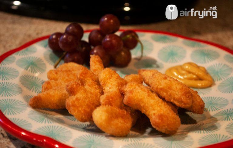 Frozen chicken nuggets in airfryer recipe cooking