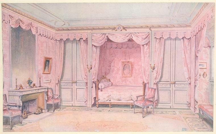 Interieurs de style--XVIIe  XVIIIe siecles--di Scenic Design