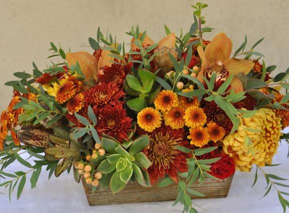 Thanksgiving centerpiece (South coast Botanic Garden