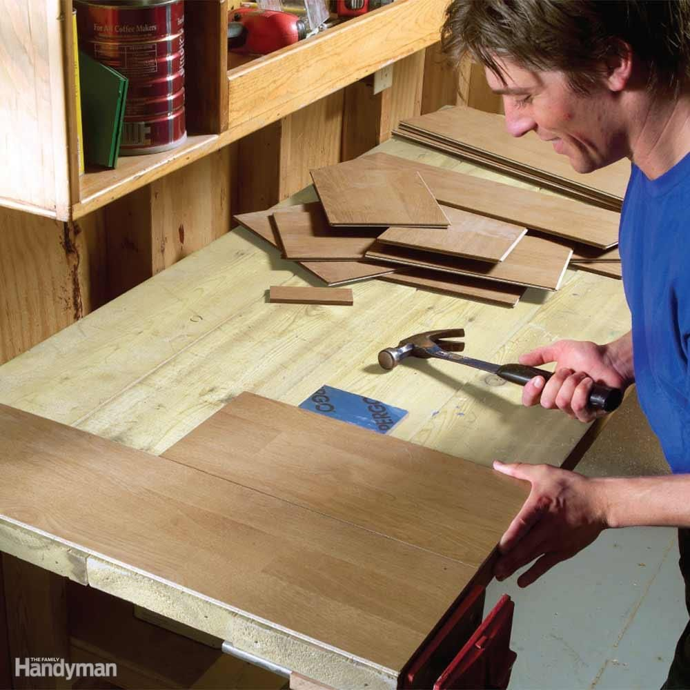 29 Simple Ways To Make Your Workbench Work Harder Folding Workbench Diy Workbench Building A