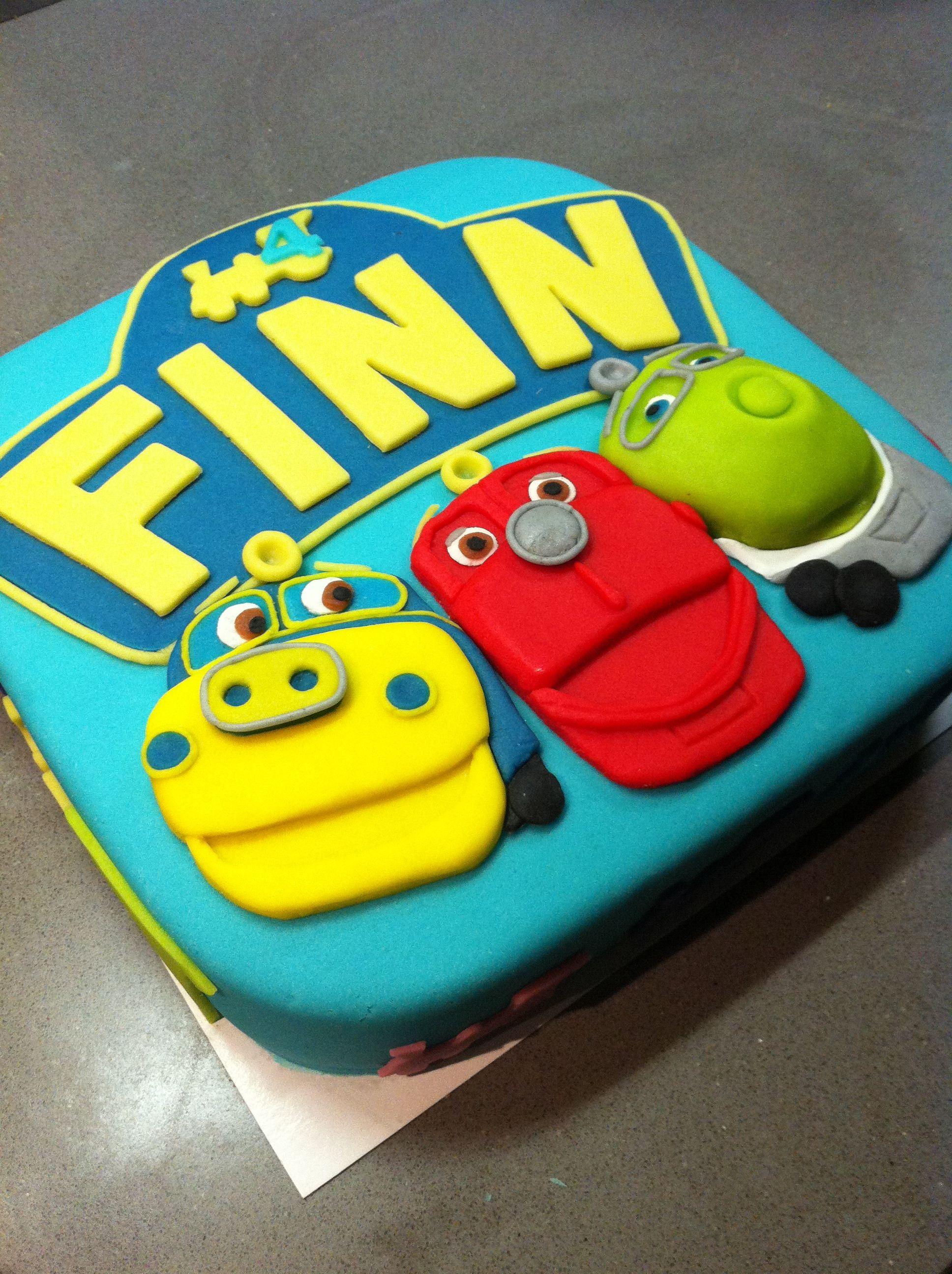 Chuggington Birthday Cake - Torte per Tutti | Traintastic cakes ...