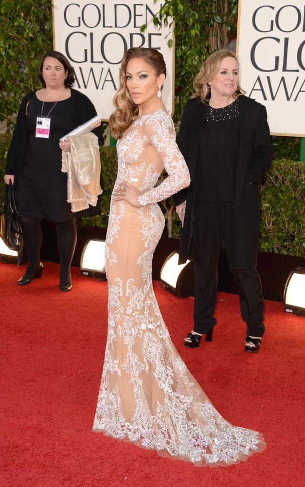 Golden Globes Cleavage: Stars Show Skin At 2013 Award Show (PHOTOS)