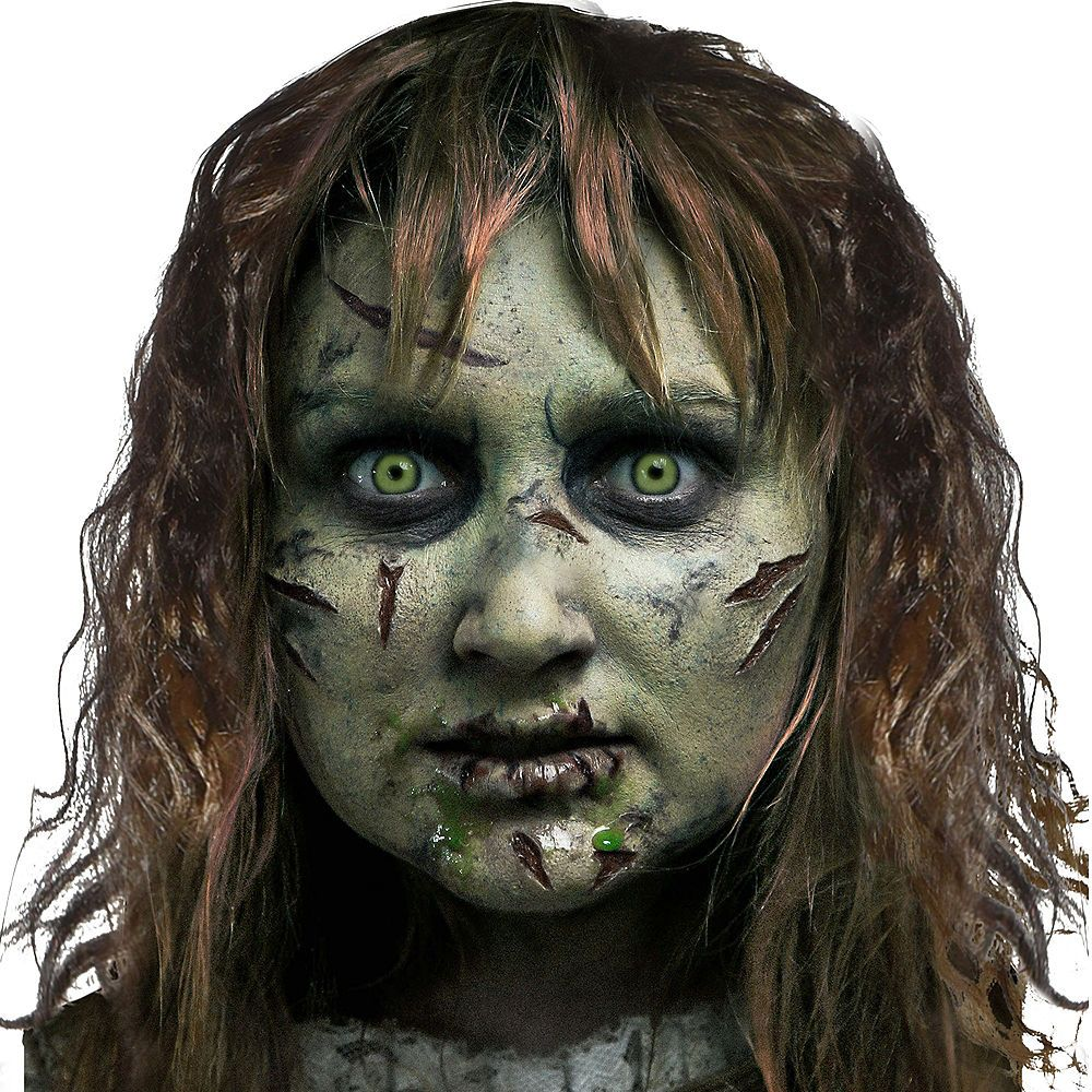Halloween Makeup Stores Near Me.The Exorcist Makeup Kit Image 1 Halloween Makeup Scary Scary Halloween Costumes Halloween Costume Shop