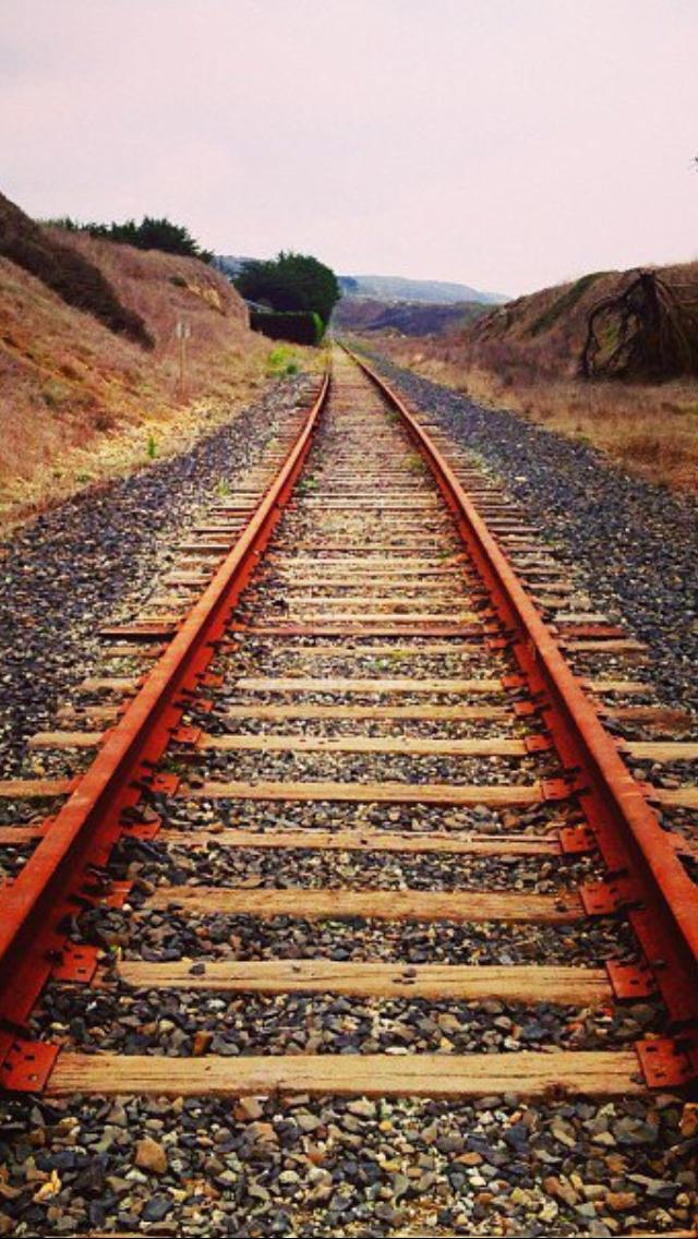 The Future Is Straight Ahead Go For It Train Tracks Old Trains Railroad Tracks