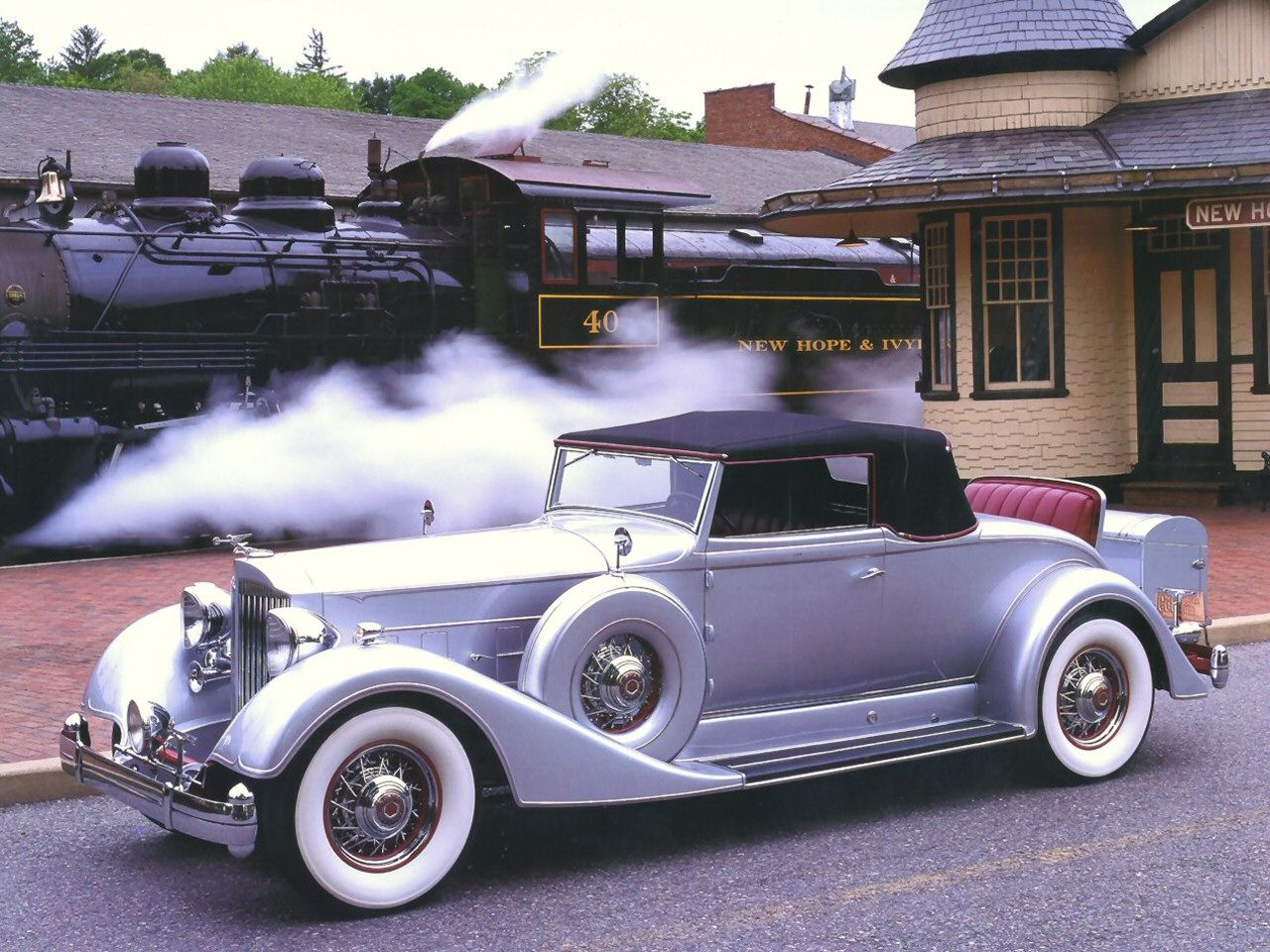 1934 Packard Twelve 1107 Coupe Roadster Convertible Sedan