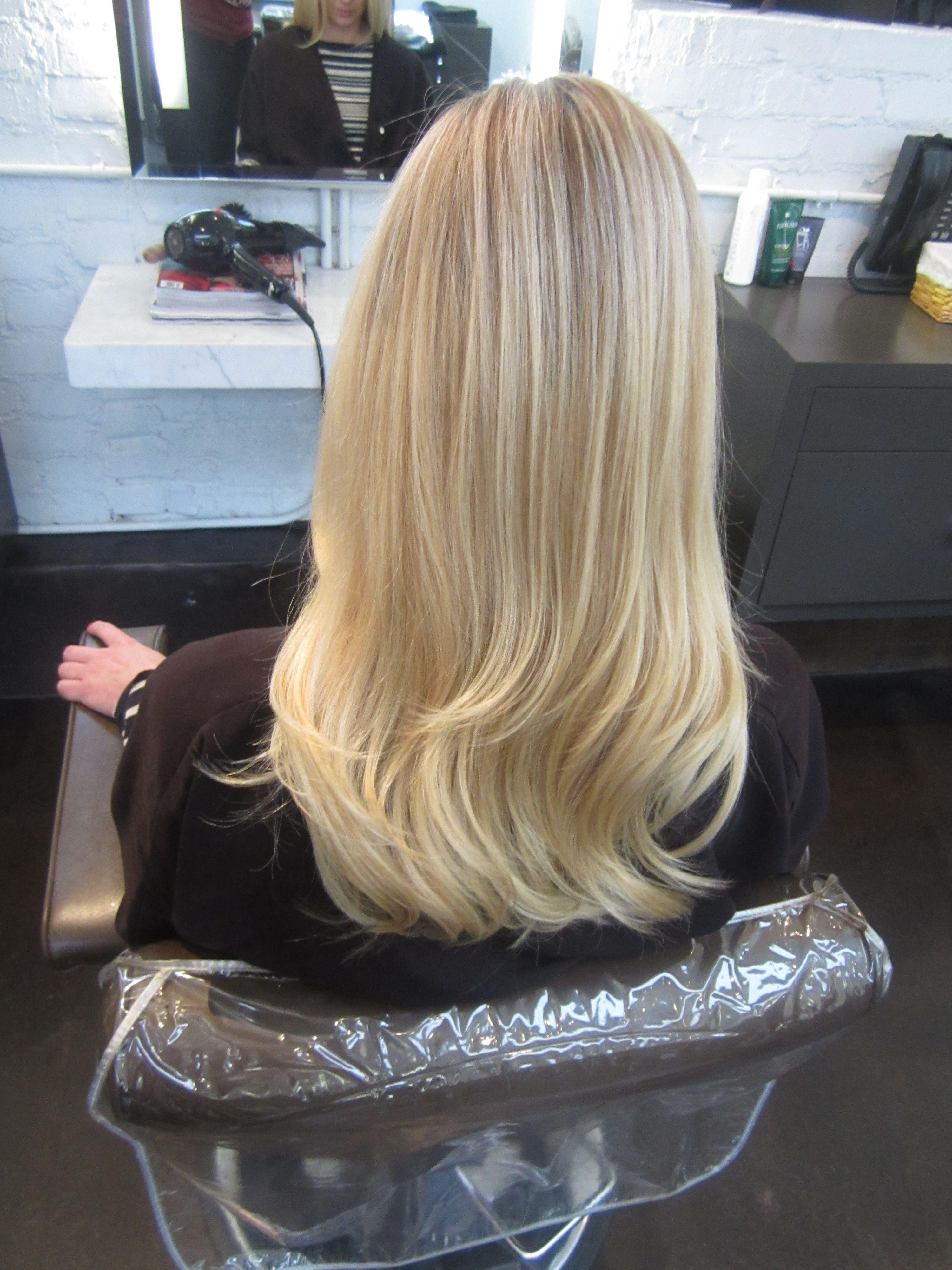 Butter Blonde Color By Lauren Ashley Hair Color