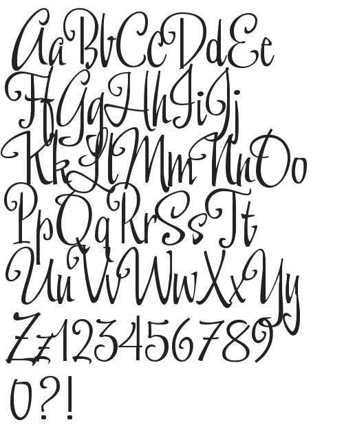 font preview | Hand lettering fonts, Lettering fonts, Hand ...