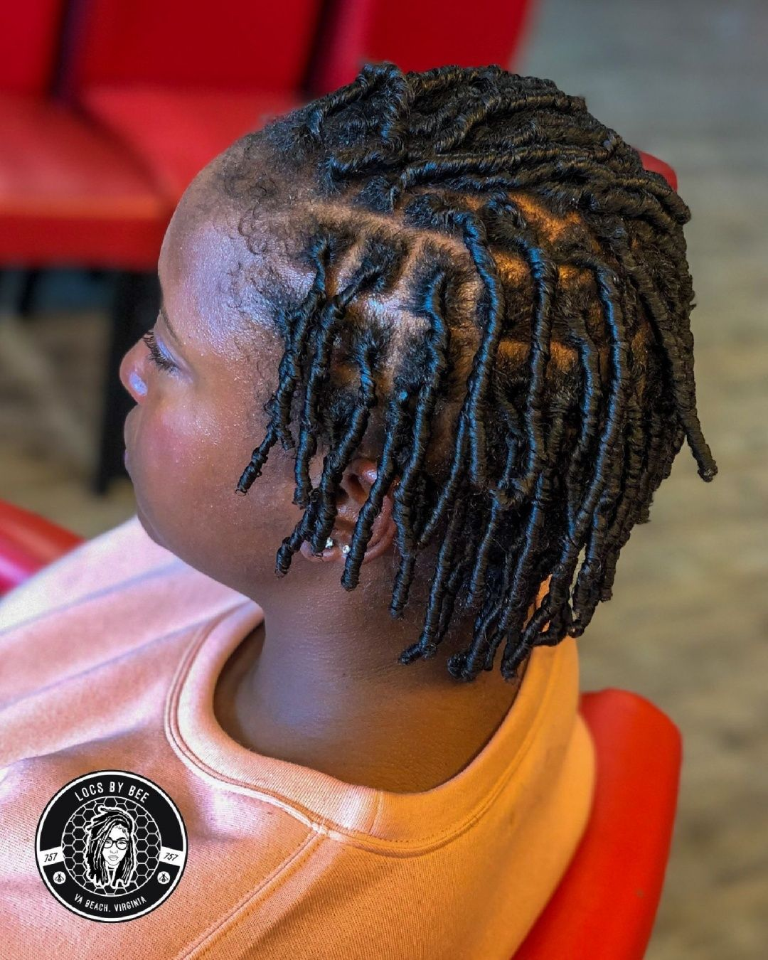 Hair Density And Part Size Denote What Size Loc You Get But If You Just Let Your Hair Go Without Regul Natural Hair Styles Locs Hairstyles Retwist Locs Style
