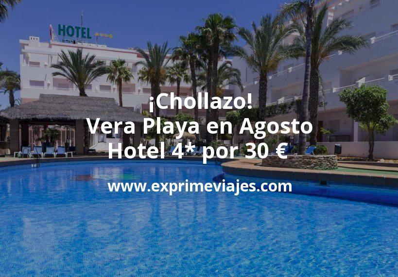 Chollazo Vera Playa En Agosto Hotel 4 Por 30 P P Noche Vacaciones Playa Hoteles Hotel