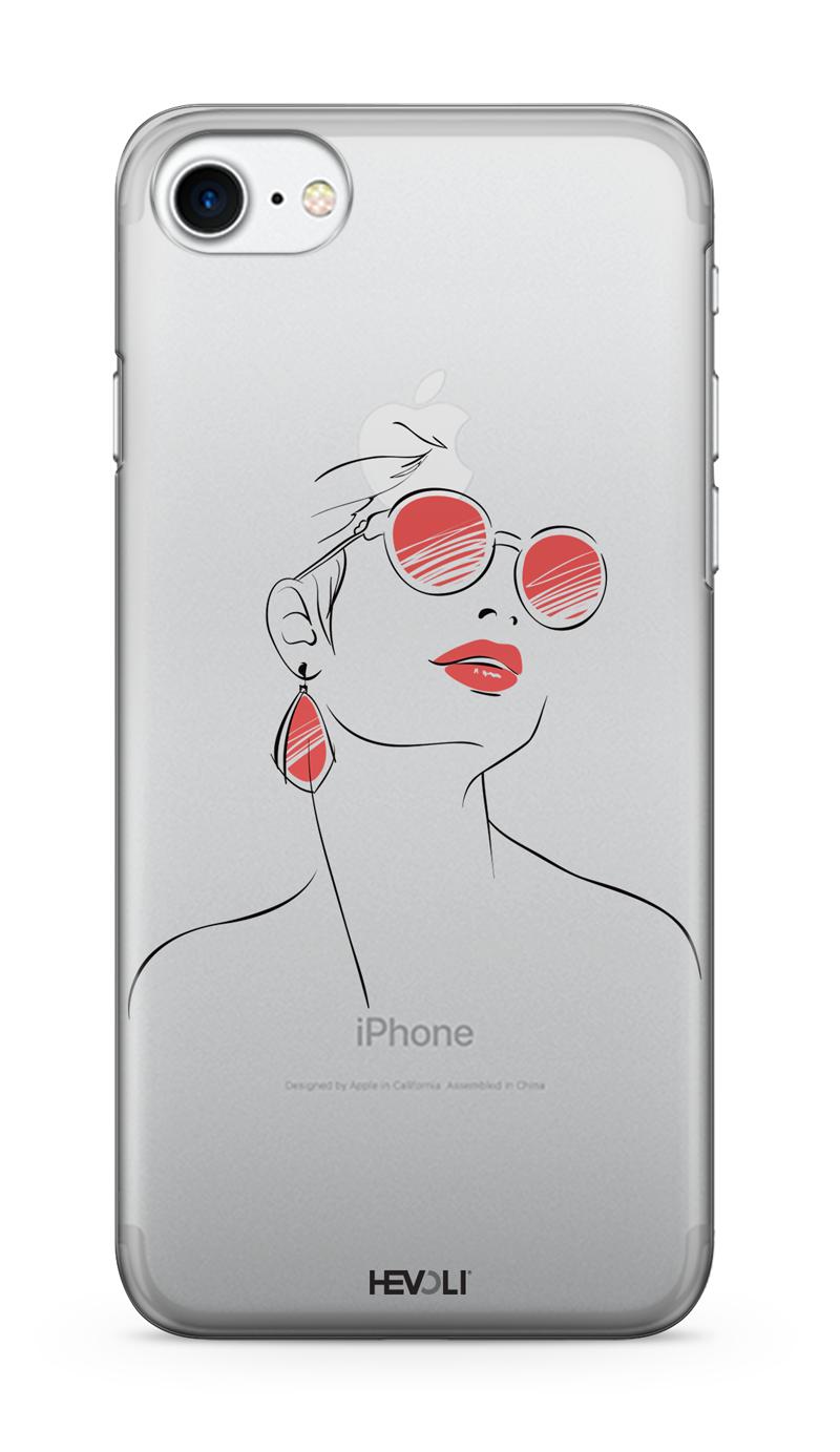 coque iphone 7 lunette