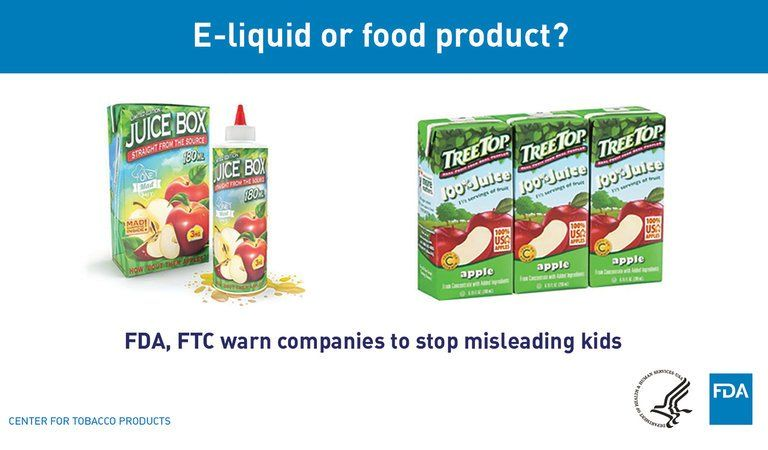Vaping Items That Look Like Juice Boxes And Candy Are Target Of Crackdown Juice Boxes Juice Kid Drinks