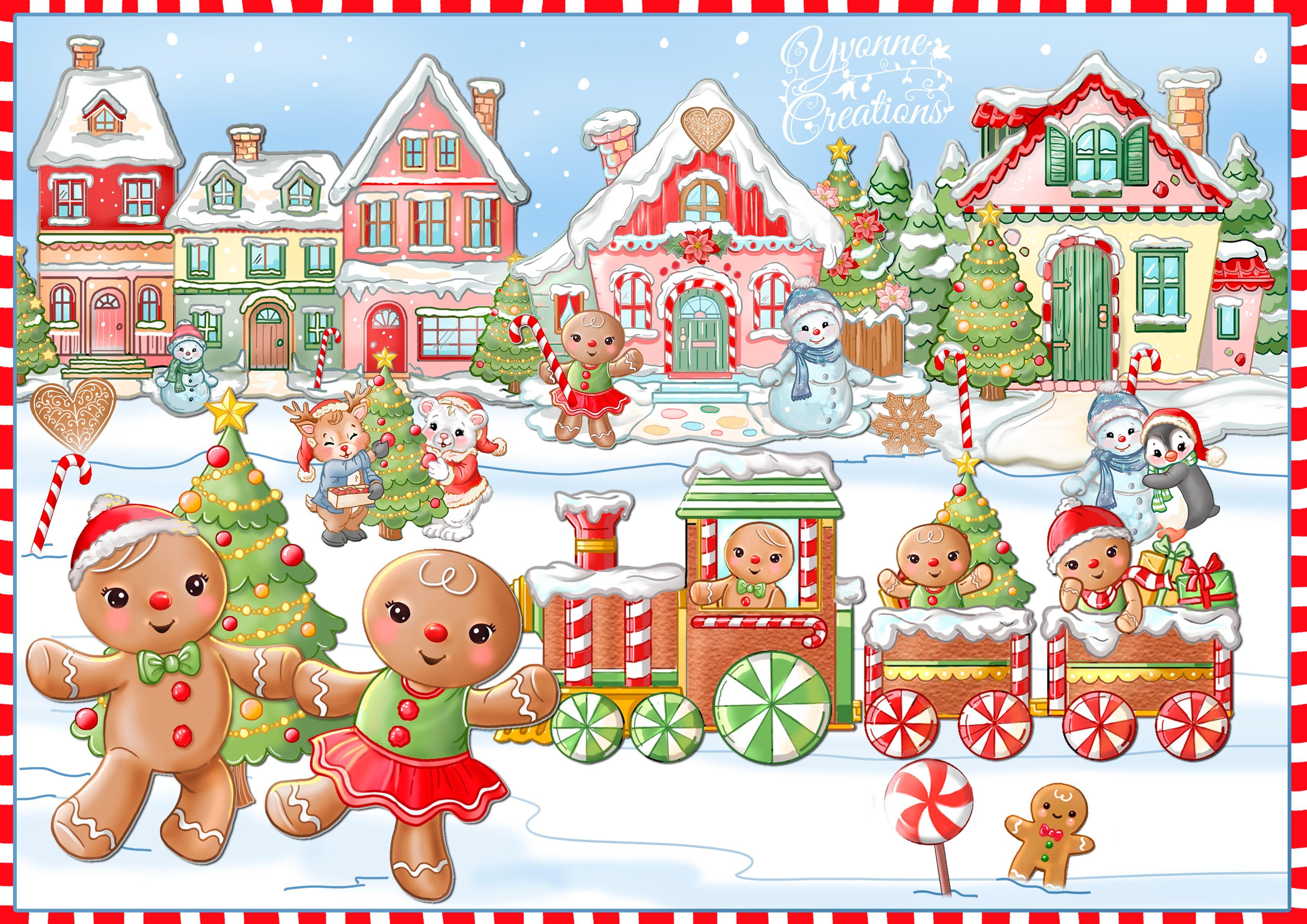 41++ Christmas candyland clipart ideas