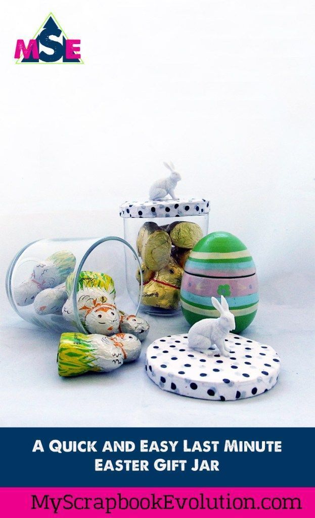 A quick and easy last minute easter gift jar easter gift and a quick and easy last minute easter gift jar negle Gallery