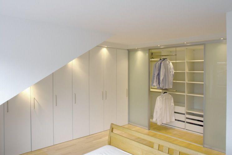 dressglider   Lösung Dachschräge verschiebbare Kleiderstange   Kleiderschrank für dachschräge ...